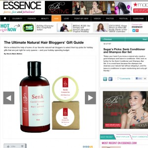 Senk Essence Feature November 2012
