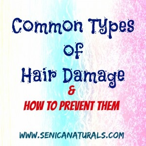 Common Types of Hair Damage & How to Prevent