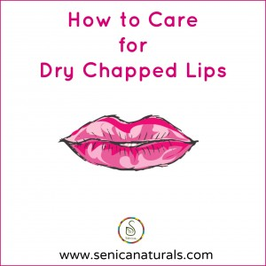 How to Care for Dry Chapped Lips with Lips