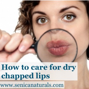 How to care for dry chapped lips by senica