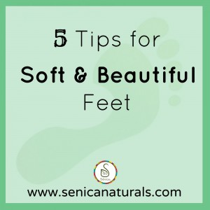 5 Tips for Soft & Beautiful Feet