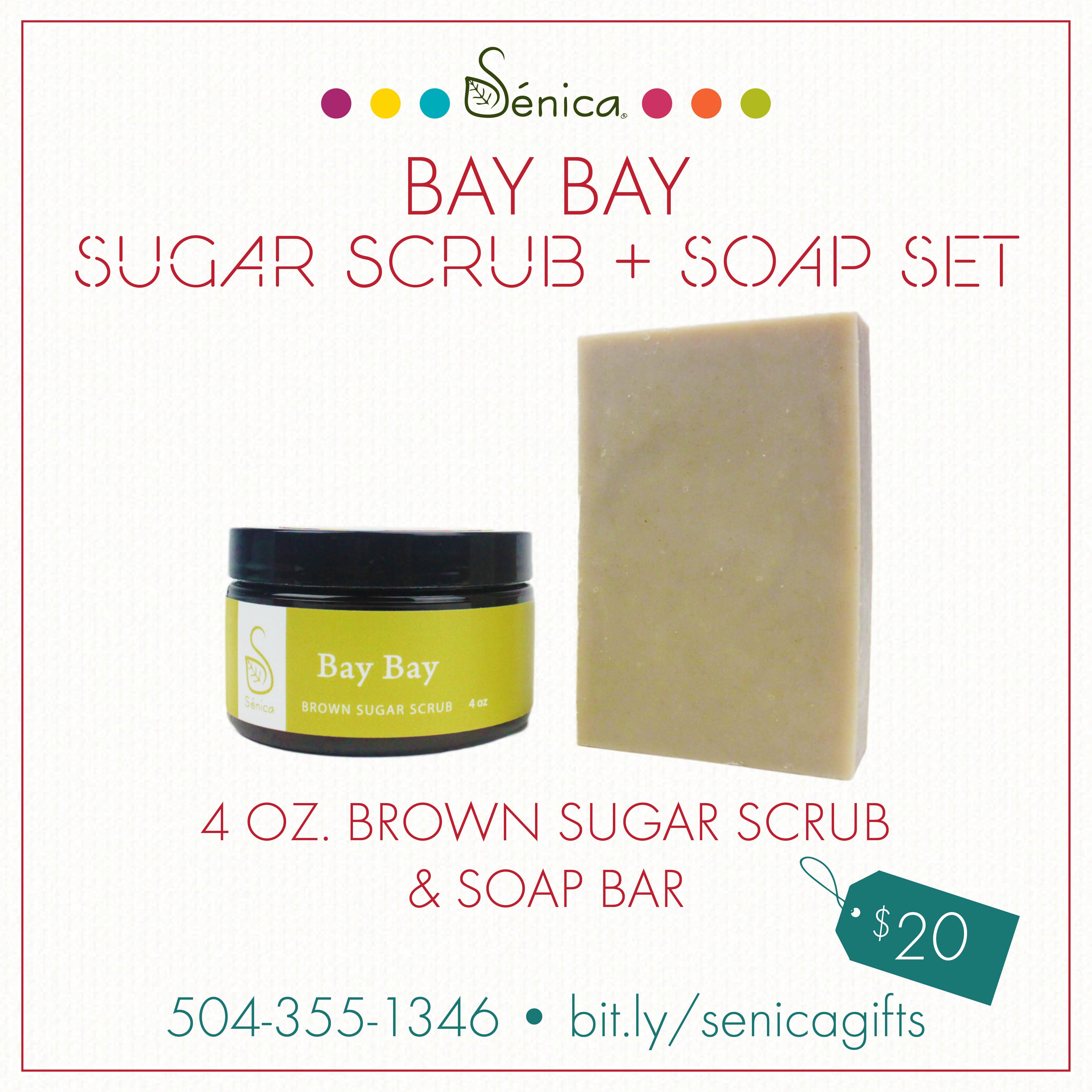 Gallery - Bay Bay Sugar Scrub & Soap Set