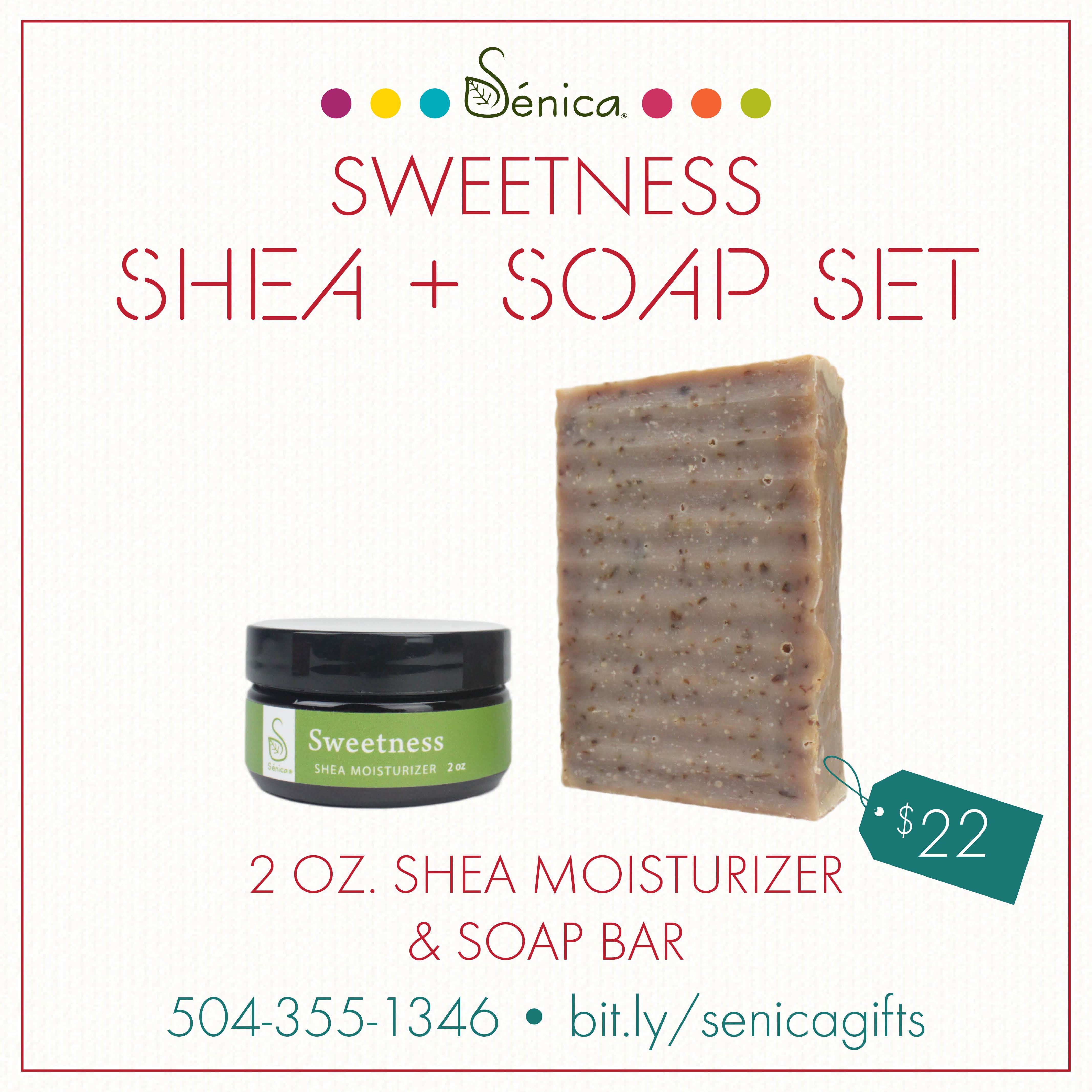 Gallery - Sweetness Shea & Soap Set