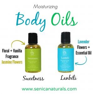 Moisturizing Body Oils
