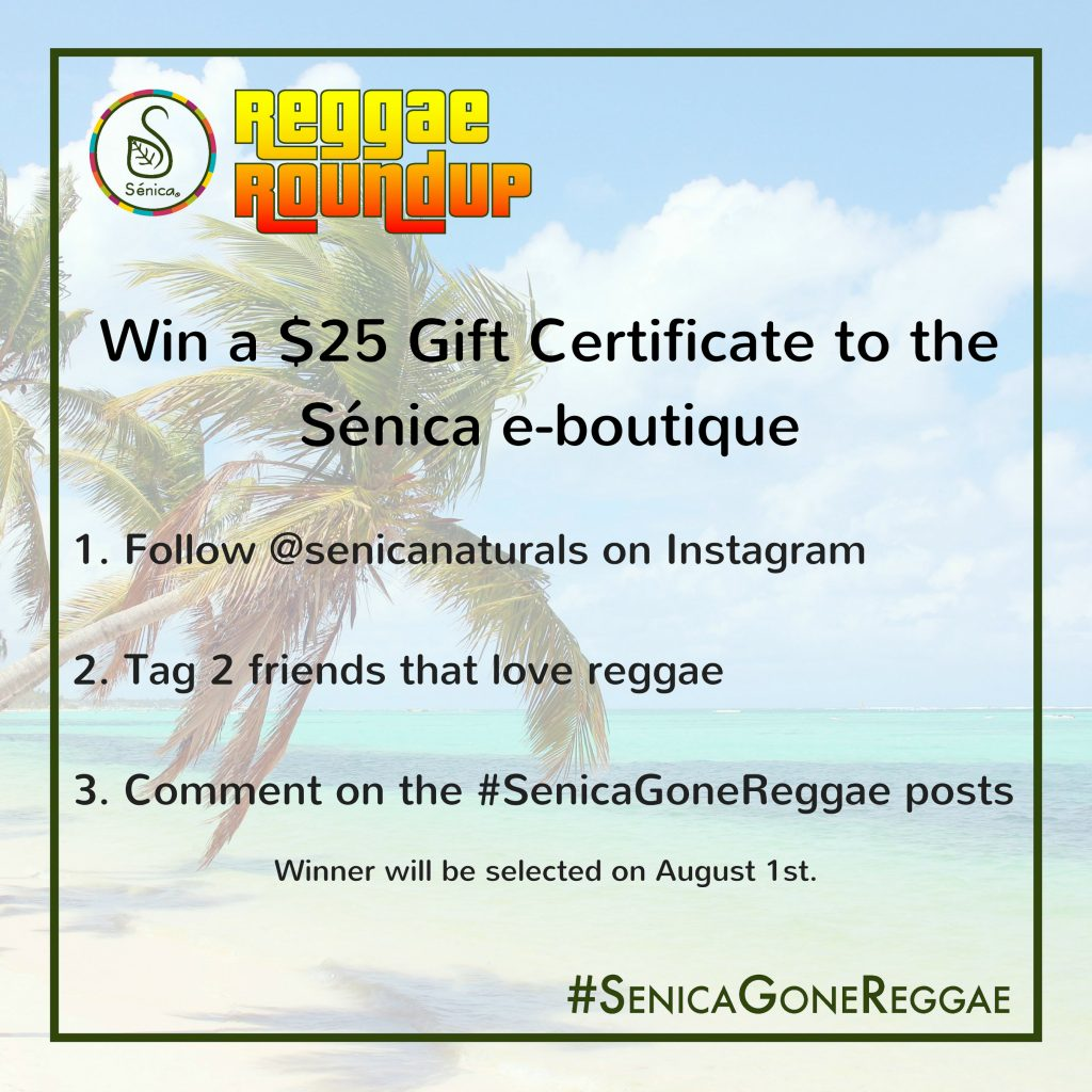 Givewaway for Senica Gone Reggae High Res