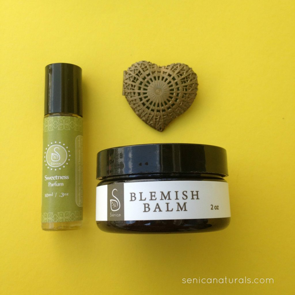 Blemish Balm and Sweetness Parfum with link IMG_7118