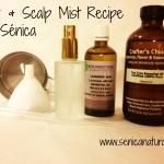 Hair & Scalp Mist Recipe Lavender & Tea Tree