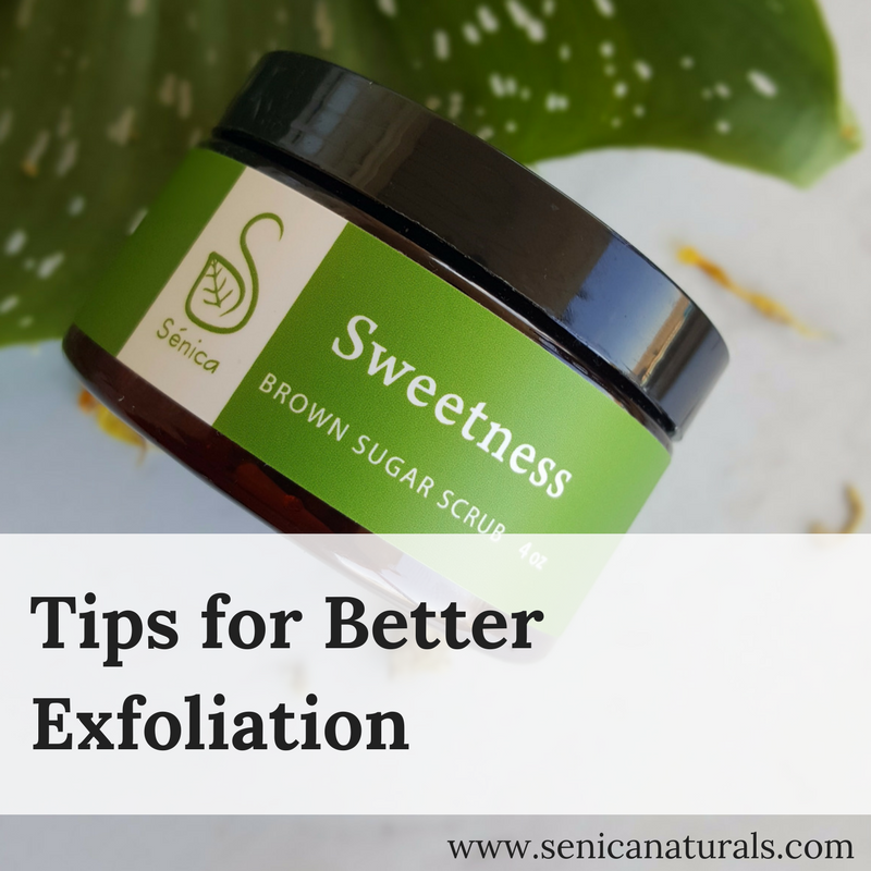 Tips for Better Exfoliation