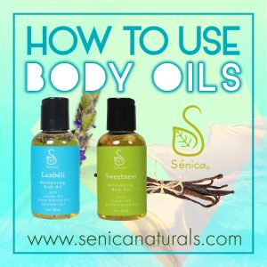 How To Use Senica Body Oils Square
