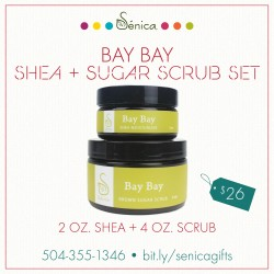 Gallery - Bay Bay Shea and Sugar Scrub Set