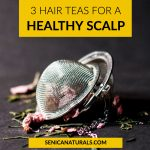 3 Hair Teas for a Healthy Scalp Blog Post